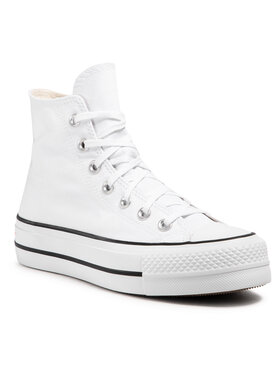 Converse Converse Sneakers aus Stoff Ctas Lft Hi 560846C Dunkelrot