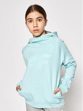 4F 4F Sweatshirt HJL21-JBLD002B Grün Regular Fit