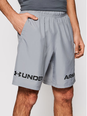 Under Armour Under Armour Sportiniai šortai Graphic 1361433 Pilka Loose Fit