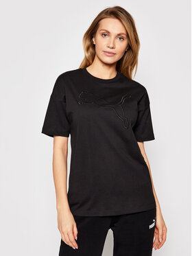 Puma Puma T-shirt Her 585965 Crna Relaxed Fit