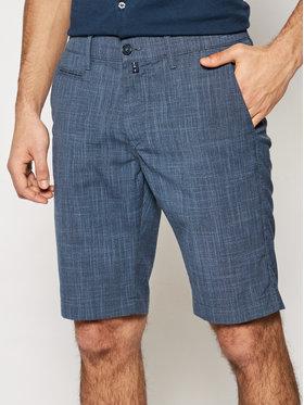Pierre Cardin Pierre Cardin Pantaloncini di tessuto Air Touch 3477/000/4910 Blu scuro Bermuda Fit