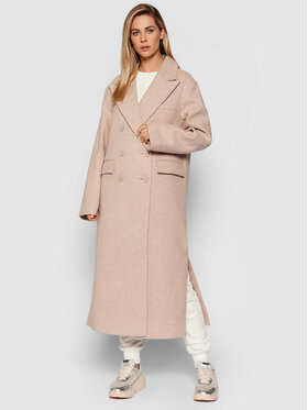 NA-KD NA-KD Žieminis paltas 1018-007241-0140-581 Smėlio Oversize