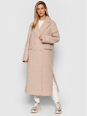 NA-KD NA-KD Zimní kabát 1018-007241-0140-581 Béžová Oversize