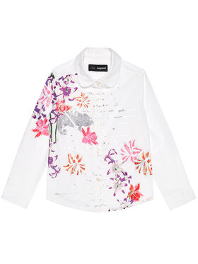 Desigual Desigual Košile Cam Helena 20WGCW02 Bílá Regular Fit