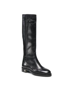 Furla Furla Klassische Stiefel Heritage YE59FHE-VO0000-O6000-1-007-20-IT-3500 S Schwarz