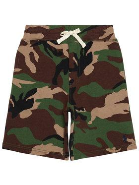 Polo Ralph Lauren Polo Ralph Lauren Шорти от плат Po 323832971002 Зелен Regular Fit