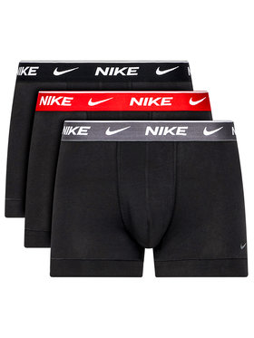 NIKE NIKE Set 3 perechi de boxeri Everyday 0000KE1008 Negru