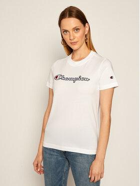 Champion Champion T-Shirt Tee 113194 Biały Regular Fit