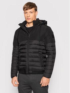 Calvin Klein Calvin Klein Пухено яке K10K107278 Черен Regular Fit