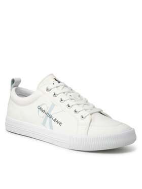 Calvin Klein Jeans Calvin Klein Jeans Tenisówki Vulcanized Laceup Sneaker YM0YM00274 Biały
