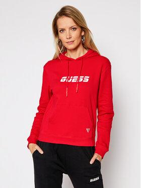 Guess Guess Džemperis O0BA0L KABT0 Raudona Regular Fit