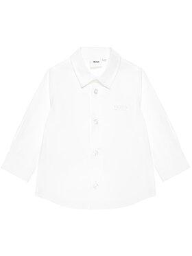 Boss Boss Πουκάμισο J05855 S Λευκό Regular Fit