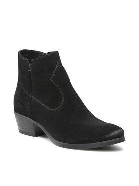 Carinii Carinii Členková obuv B5643 Čierna