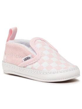 Vans Vans Πάνινα παπούτσια Slip-On V Crib VN0A2XSL04E1 Ροζ