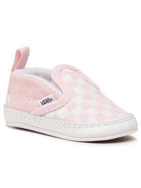 Vans Vans Sneakers aus Stoff Slip-On V Crib VN0A2XSL04E1 Rosa