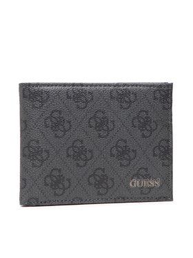 Guess Guess Veľká pánska peňaženka Vezzola (4G Logo Basique) Slg SMVEZL LEA27 Čierna