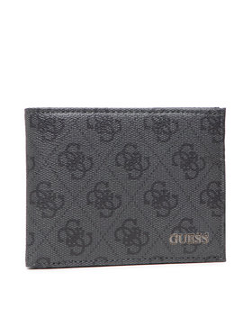 Guess Guess Velká pánská peněženka Vezzola (4G Logo Basique) Slg SMVEZL LEA27 Černá