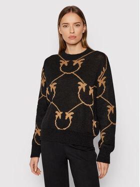 Pinko Pinko Sweater Abbey Road 1G16C3 Y7GY Fekete Regular Fit