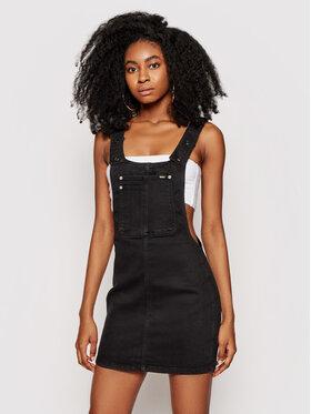 Pepe Jeans Pepe Jeans Džínové šaty Aspen PL952811 Černá Regular Fit