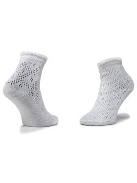 Mayoral Mayoral Sada 2 párů dětských vysokých ponožek 10785 Bílá