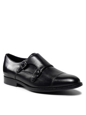 Geox Geox Κλειστά παπούτσια U Hampstead A U16E3A 00043 C9999 Μαύρο