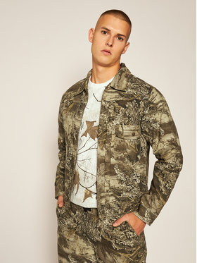 HUF HUF Farmer kabát Lincoln JK00261 Zöld Regular Fit