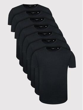 Only & Sons Only & Sons Súprava 7 tričiek Matt Life Longy 22012787 Čierna Regular Fit