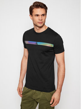 Calvin Klein Jeans Calvin Klein Jeans T-Shirt J30J317165 Czarny Regular Fit