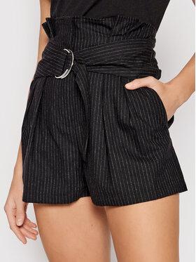 IRO IRO Pantalon scurți din material Corsten Negru Regular Fit