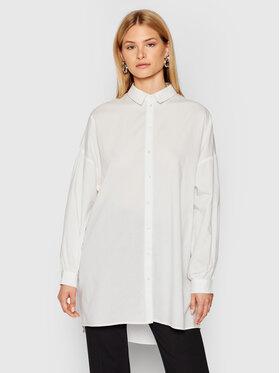 Vero Moda Vero Moda Сорочка Bina 10250576 Білий Oversize