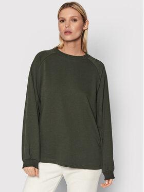 NA-KD NA-KD Sweatshirt 1100-004329-0086-003 Grün Oversize