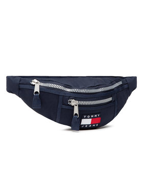 Tommy Jeans Tommy Jeans Borsetă Tjw Heritage Bumbag Canvas AW0AW09886 Bleumarin