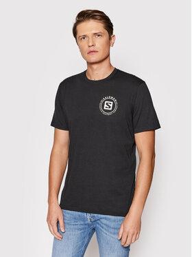 Salomon Salomon T-Shirt Salomon Explore Blend LC1593500 Czarny Standard Fit