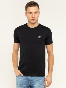 Calvin Klein Jeans Calvin Klein Jeans Tricou Tee Shirt Essential J30J314544 Negru Slim Fit