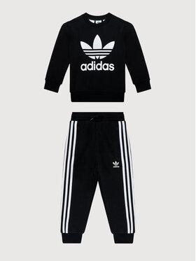 adidas adidas Анцуг adicolor Crew Set H25250 Черен Regular Fit