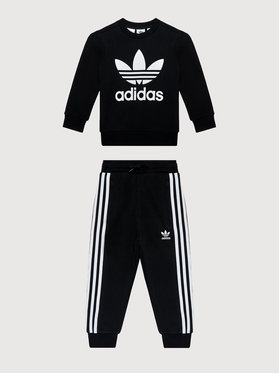 adidas adidas Dres adicolor Crew Set H25250 Czarny Regular Fit