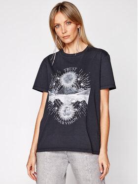 IRO IRO T-Shirt Trust A0287 Czarny Regular Fit