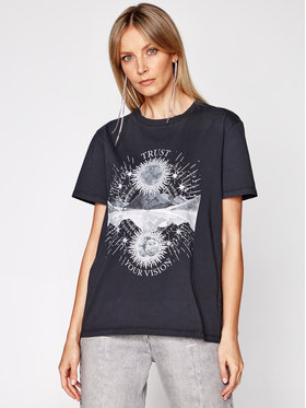 IRO IRO T-shirt Trust A0287 Nero Regular Fit