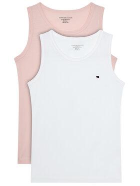 Tommy Hilfiger Tommy Hilfiger Комплект 2 блузи без ръкави UG0UG00470 Розов Regualr Fit
