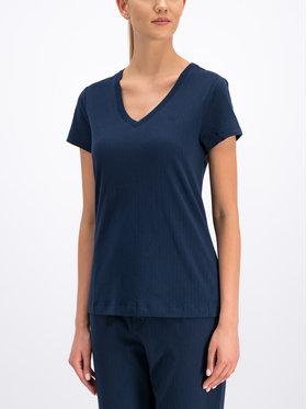 Lauren Ralph Lauren Lauren Ralph Lauren T-Shirt I8151229 Granatowy Regular Fit