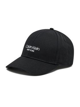 Calvin Klein Calvin Klein Kepurė su snapeliu Bb Cap K50K506037 Juoda