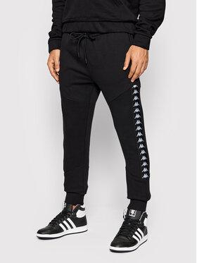 Kappa Kappa Teplákové kalhoty Joris 310038 Černá Regular Fit