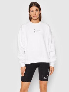Karl Kani Karl Kani Світшот Small Signature Crew 6129361 Білий Relaxed Fit