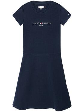 Tommy Hilfiger Tommy Hilfiger Kasdieninė suknelė Essential Skater KG0KG05789 M Tamsiai mėlyna Regular Fit