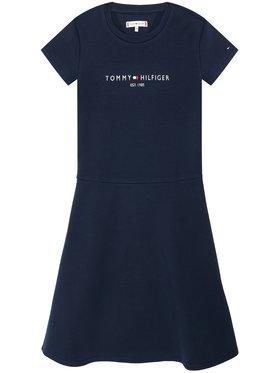 Tommy Hilfiger Tommy Hilfiger Každodenné šaty Essential Skater KG0KG05789 M Tmavomodrá Regular Fit