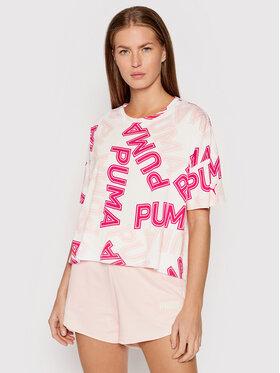Puma Puma T-Shirt Modern Sports Fashion 581238 Λευκό Relaxed Fit