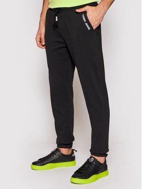 Tommy Jeans Tommy Jeans Teplákové kalhoty Tjm Scanton DM0DM10605 Černá Slim Fit