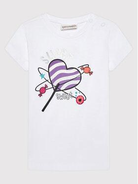 Coccodrillo Coccodrillo T-Shirt ZC1143202MON Λευκό Regular Fit