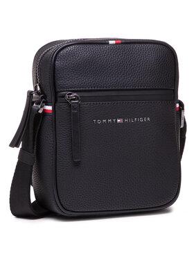 Tommy Hilfiger Tommy Hilfiger Ľadvinka Essential Pu Mini Reporter AM0AM07233 Čierna