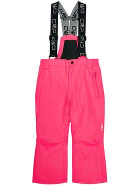 CMP CMP Spodnie narciarskie 3W15994 Różowy Regular Fit